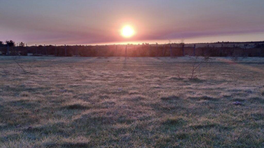 Previsão do tempo – Domingo farroupilha começou abaixo de zero