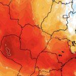 Previsão do tempo – Calor intenso a extremo no Sudeste e Centro-Oeste