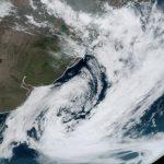 Ciclone no Atlântico Sul