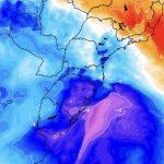 Duas massas de ar frio ingressam nesta semana