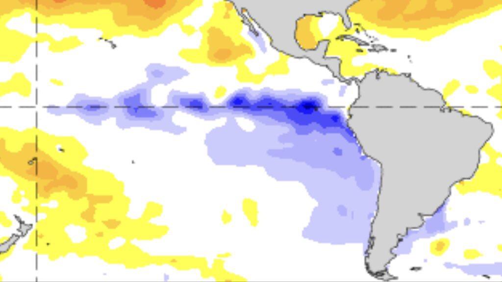 """Clima – Chegada do La Niña significa """"corte"""" da chuva?"""