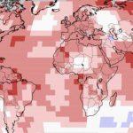 Hemisfério Norte teve o verão mais quente já registrado