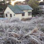 4,4°C abaixo de zero no último dia do inverno
