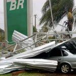 Tornados ou ciclone atingiram as Missões?