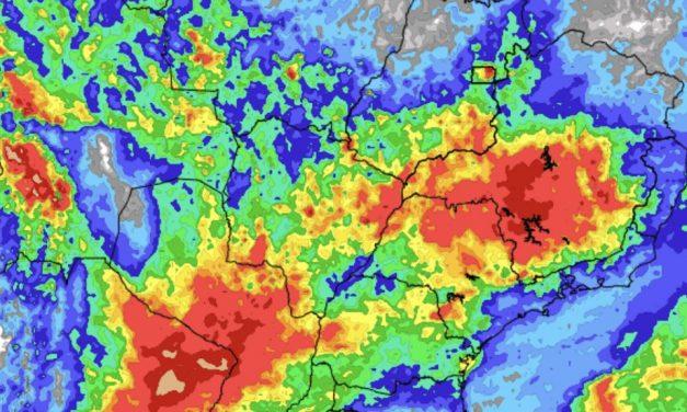 Previsão do tempo – Tendência de chuva