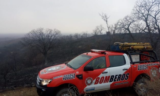 Chuva apaga incêndios na Argentina