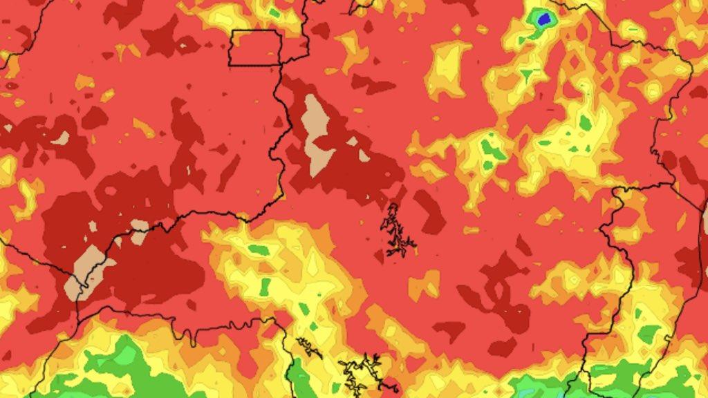 Previsão do tempo – Muita chuva em Minas Gerais