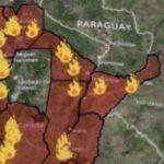 ENGANOSO – Fumaça no Centro-Sul do Brasil não é só da Argentina