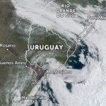 Ciclone se forma junto ao Sul gaúcho