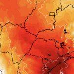 Segunda maior temperatura já registrada no Brasil no MT e MS