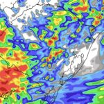 Chuva atingirá grande parte do Rio Grande do Sul hoje e amanhã