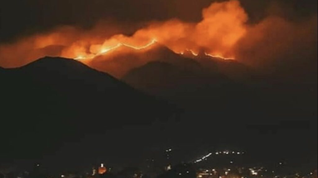 Voltam os incêndios na Argentina