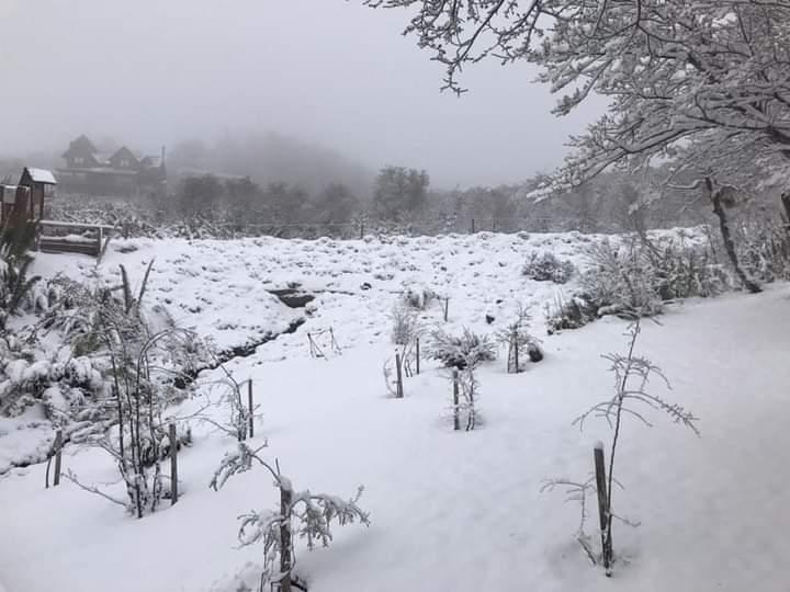 Muita neve na Argentina em pleno fim de outubro