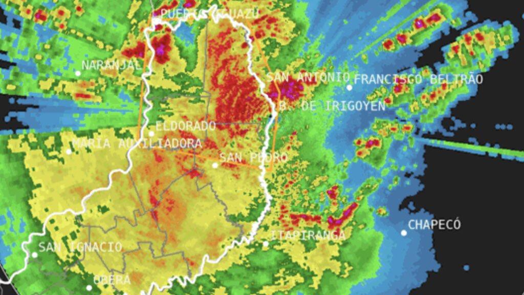 Chuva e temporais no Sul – Paraná será o mais atingido