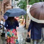 Porto Alegre se aproxima da metade da média de chuva do mês