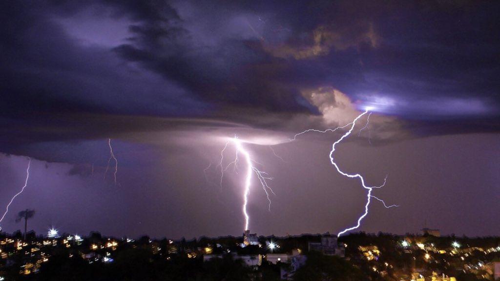 **ALERTA** Tempo severo no Sul e Centro-Oeste do Brasil