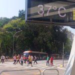 Cidade de São Paulo tem terceira maior temperatura até hoje