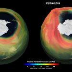 Buraco de ozônio hoje é um dos maiores já vistos