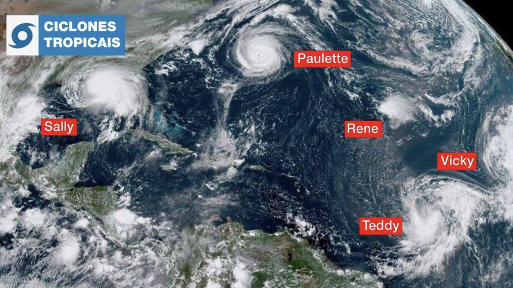 """<span class=""""entry-title-primary"""">Temporada de furacões tem recorde de número de tempestades</span> <h2 class=""""entry-subtitle"""">Números deste ano superam a da hiperativa temporada de 2005 que até hoje é lembrada pelo furacão Katrina </h2>"""