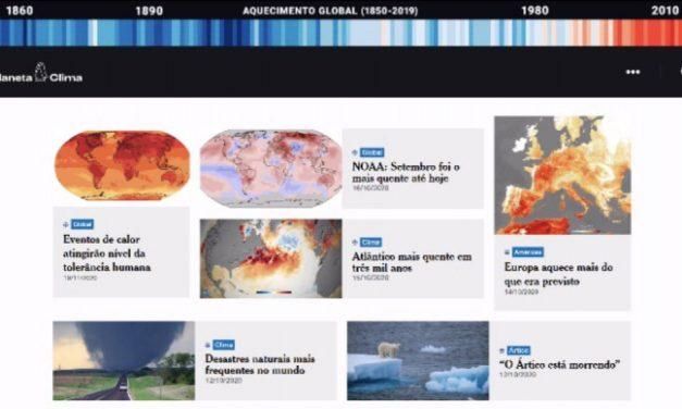 MetSul estreia página sobre mudanças climáticas