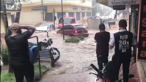 Risco alto de chuva extrema isolada no Sul do Brasil