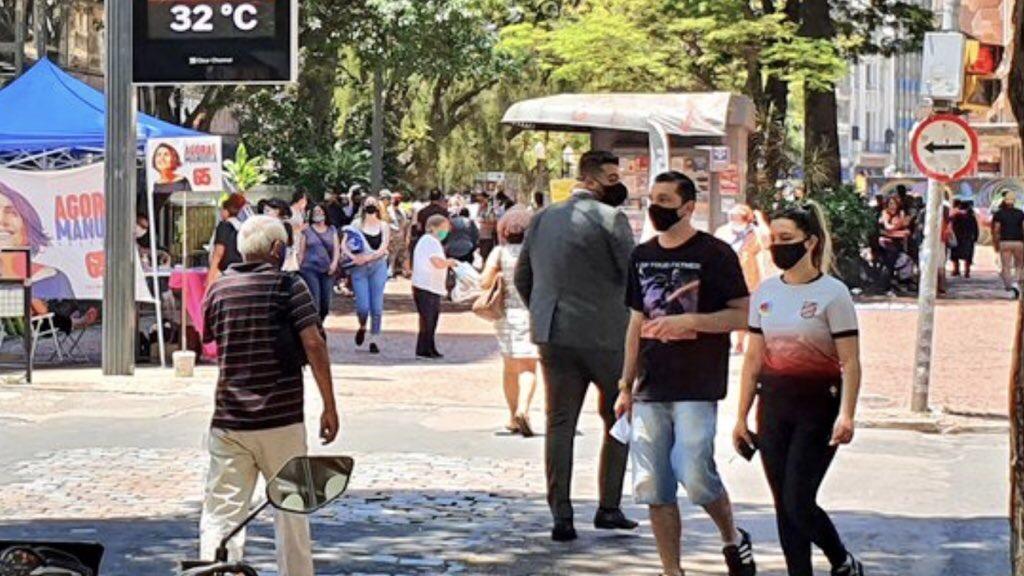 """<span class=""""entry-title-primary"""">Grande Porto Alegre tem tarde de novembro mais quente em oito anos</span> <h2 class=""""entry-subtitle"""">Máxima se aproximou dos 38°C no Vale do Sinos na tarde desta terça-feira </h2>"""