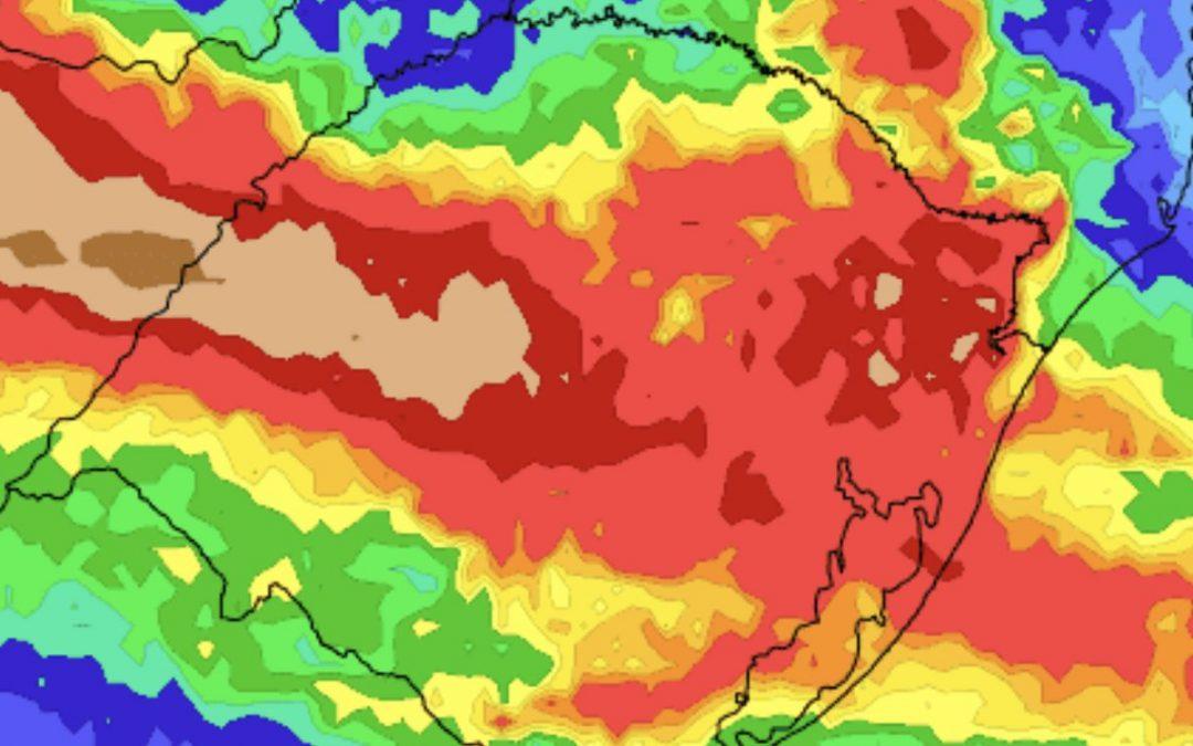 Vem aí um alívio para a estiagem no Rio Grande do Sul Fim do mês e começo de dezembro serão marcados por chuva mais frequente e volumosa