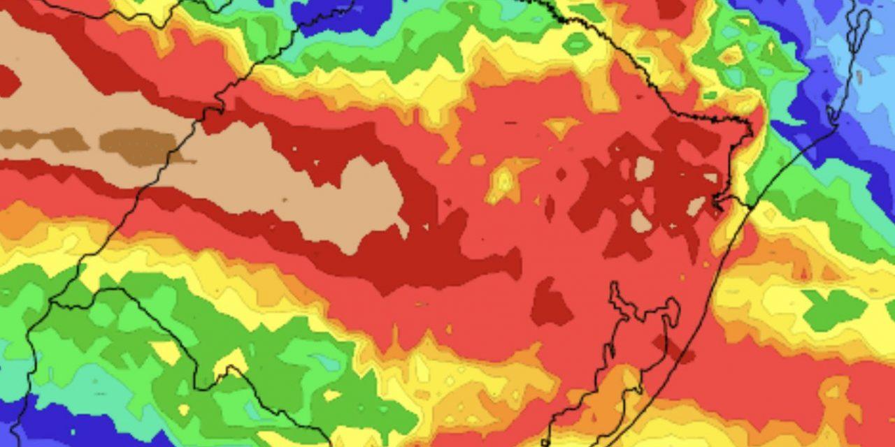 """<span class=""""entry-title-primary"""">Vem aí um alívio para a estiagem no Rio Grande do Sul</span> <span class=""""entry-subtitle"""">Fim do mês e começo de dezembro serão marcados por chuva mais frequente e volumosa </span>"""