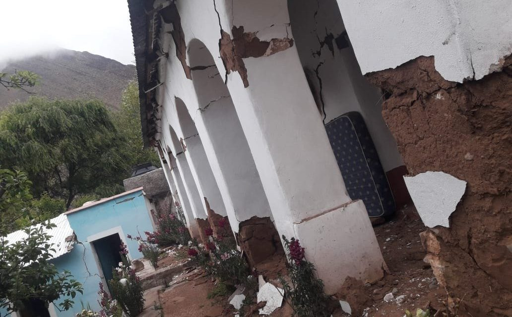 """<span class=""""entry-title-primary""""><span style='color:#ff0000;font-size:14px;'>ARGENTINA </span><br> Forte terremoto no Norte da Argentina</span> <span class=""""entry-subtitle"""">Outro tremor ontem causou danos no Norte argentino </span>"""