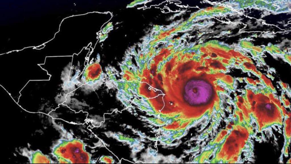 """<span class=""""entry-title-primary""""><span style='color:#ff0000;font-size:14px;'>FURACÃO MUITO PERIGOSO </span><br> Desastre iminente na América Central pelo furacão Eta</span> <span class=""""entry-subtitle"""">Meteorologistas experts em ciclones tropicais estão comparando Eta aos furacões Fifi (1974) e Mitch (1998) que deixaram milhares de mortos na região </span>"""