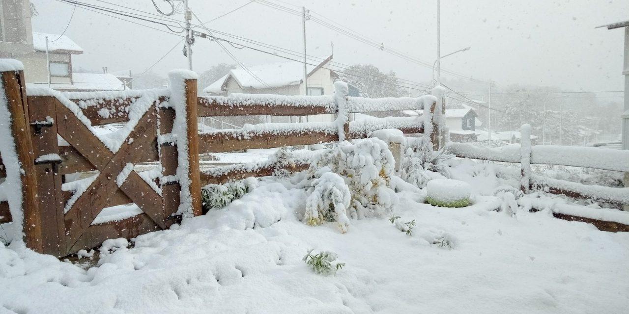 """<span class=""""entry-title-primary"""">Ar frio traz nevasca na Argentina e chegará ao Sul do Brasil</span> <span class=""""entry-subtitle"""">Em pleno verão climático e a 22 dias do Natal, Ushuaia teve um dia branco </span>"""