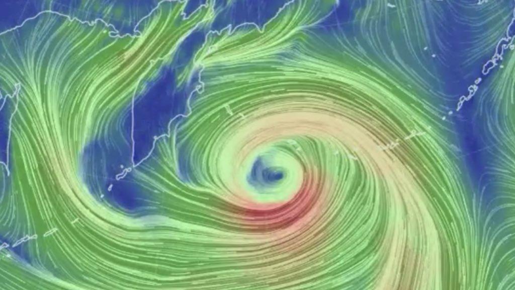 """<span class=""""entry-title-primary"""">Megaciclone bomba quebra recorde no Pacífico</span> <h2 class=""""entry-subtitle"""">Pressão atmosférica atinge níveis baixos jamais vistos no Mar de Bering junto ao Alasca </h2>"""