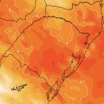Calorão da Argentina chega ao Rio Grande do Sul