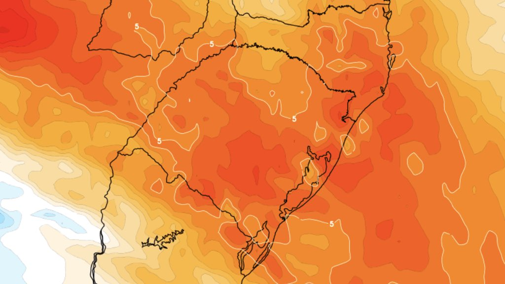 """<span class=""""entry-title-primary"""">Calorão da Argentina chega ao Rio Grande do Sul</span> <h2 class=""""entry-subtitle"""">Máximas perto de 40°C no estado gaúcho são esperadas nos próximos dias </h2>"""
