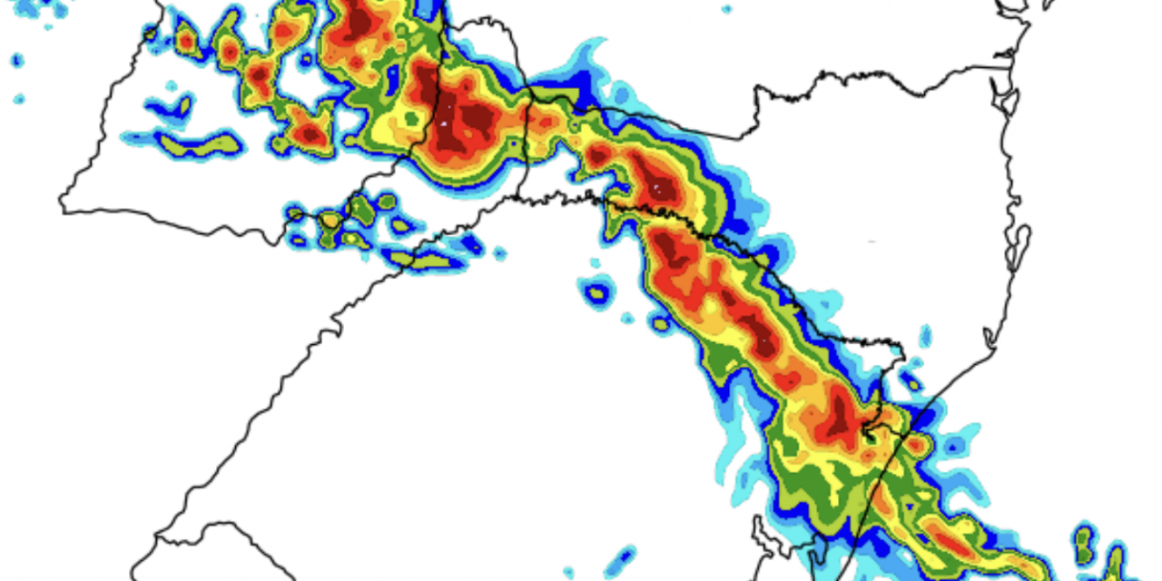 "<span class=""entry-title-primary"">**ALERTA** Temporais no Centro-Sul do Brasil</span> <span class=""entry-subtitle"">Frente fria traz chuva no Sul, Sudeste e no Centro-Oeste do Brasil no último dia do ano </span>"