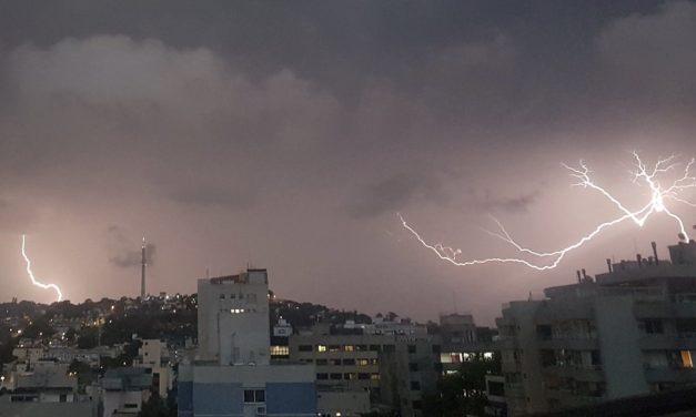 Risco de chuva forte e temporais segue no Sul do Brasil