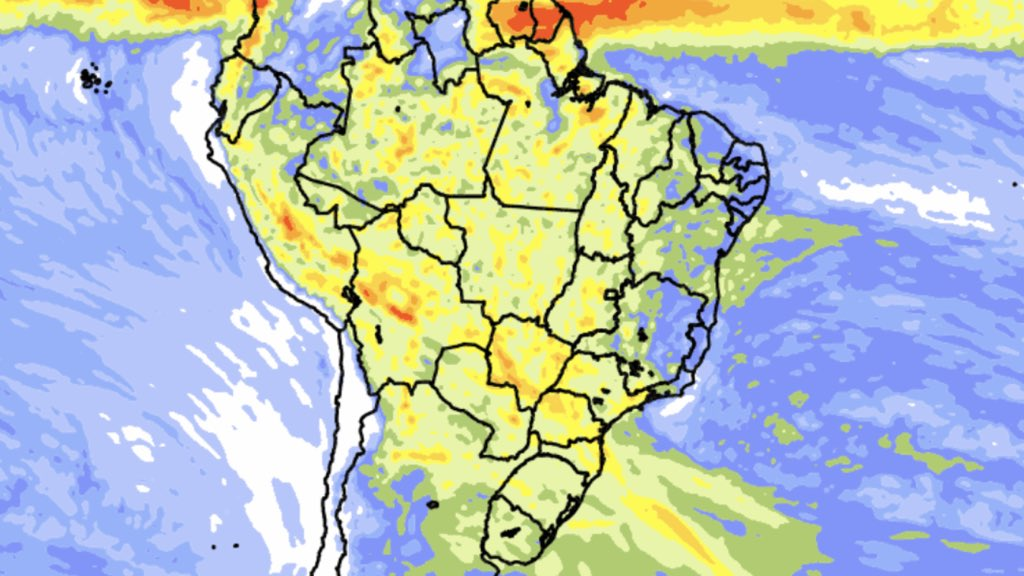 """<span class=""""entry-title-primary"""">Tendência de chuva para dez dias</span> <span class=""""entry-subtitle"""">Áreas do Sul e do Nordeste do Brasil carentes de precipitação terão aumento da chuva </span>"""