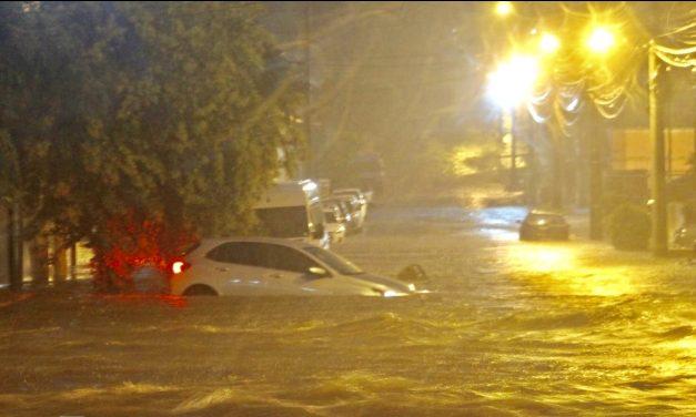 Chuva de até 180 mm castiga fronteira gaúcha