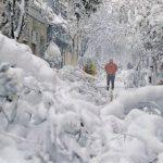 O dia em que a neve soterrou a Espanha