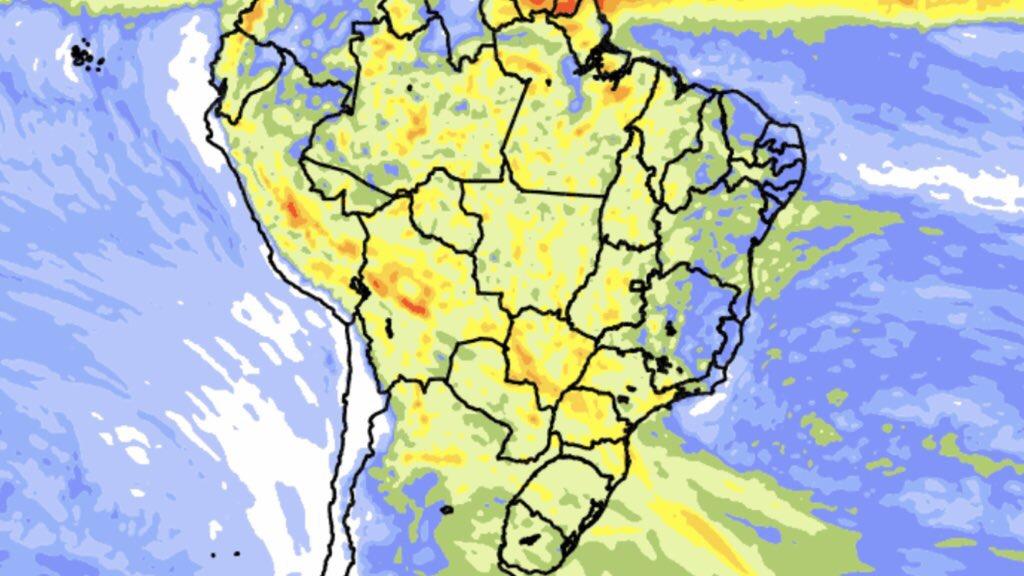 """<span class=""""entry-title-primary"""">Previsão do tempo – Tendência de chuva para dez dias</span> <h2 class=""""entry-subtitle"""">Sul do Brasil terá volumes muito altos de chuva no período </h2>"""