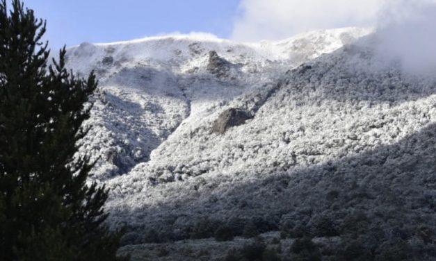Neve em Bariloche em pleno janeiro