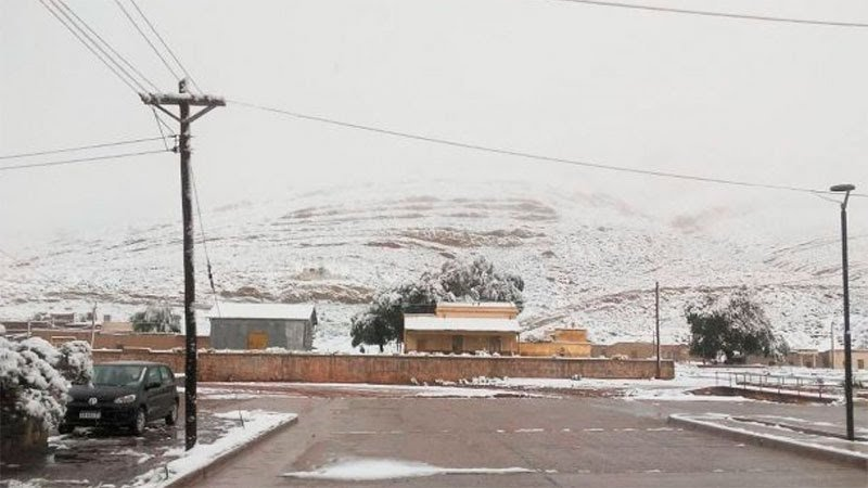 """<span class=""""entry-title-primary"""">Neve em pleno janeiro no Norte da Argentina</span> <span class=""""entry-subtitle"""">Neve caiu nos pontos mais altos da província argentina de Jujuy, perto da Bolívia, e trouxe paisagem invernal. </span>"""