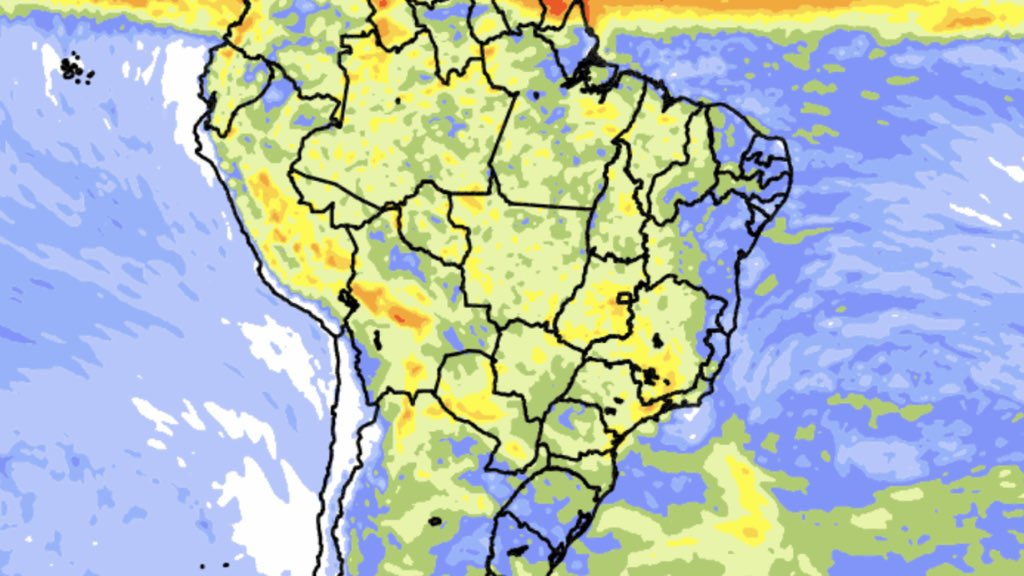 """<span class=""""entry-title-primary"""">Previsão de chuva para dez dias</span> <span class=""""entry-subtitle"""">Brasil Central segue com volumes localmente muito altos de precipitação </span>"""