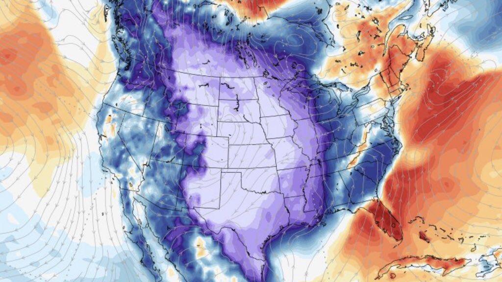 """<span class=""""entry-title-primary"""">""""O maior frio das suas vidas""""</span> <h2 class=""""entry-subtitle"""">Extraordinária onda de frio trará neve s frio como não vistos em muitas décadas em parte dos Estados Unidos </h2>"""