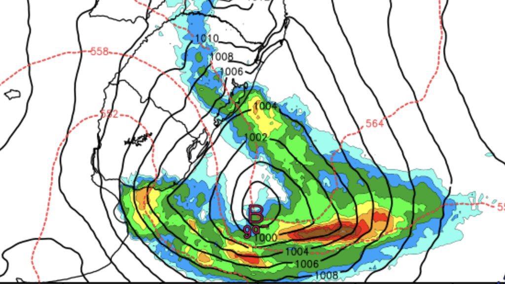 """<span class=""""entry-title-primary"""">Ciclone, frente fria e ar quente trarão temporais</span> <h2 class=""""entry-subtitle"""">Rio Grande do Sul terá três dias seguidos de muita instabilidade atmosférica </h2>"""