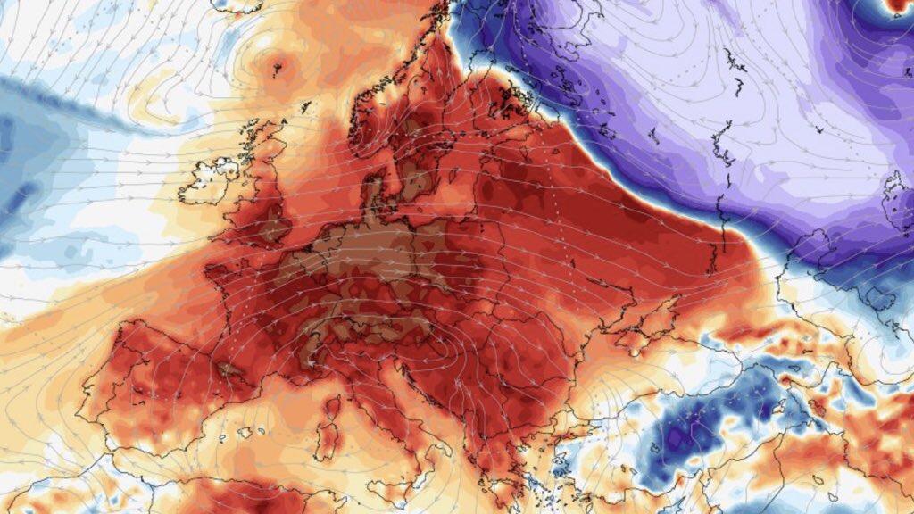 """<span class=""""entry-title-primary"""">Frio extremo pro calor sem escalas</span> <h2 class=""""entry-subtitle"""">Europa sai do frio extremo para calor fora de época em poucos dias com variações recordes de temperatura </h2>"""
