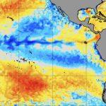 La Niña oscila no Pacífico