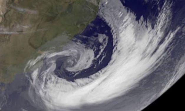Vídeo – Meteorologista Estael Sias analisa o ciclone