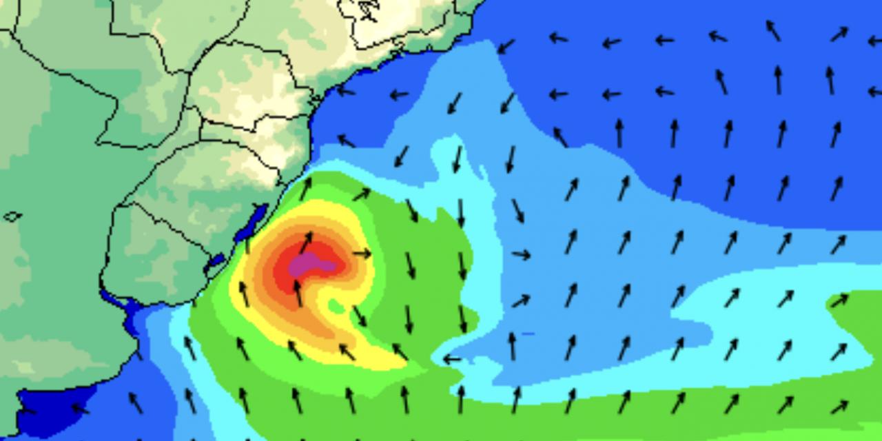 """<span class=""""entry-title-primary"""">Significativa ressaca do mar e maré de tempestade</span> <h2 class=""""entry-subtitle"""">Mar muito agitado entre hoje e amanhã no litoral do Sul do Brasil </h2>"""