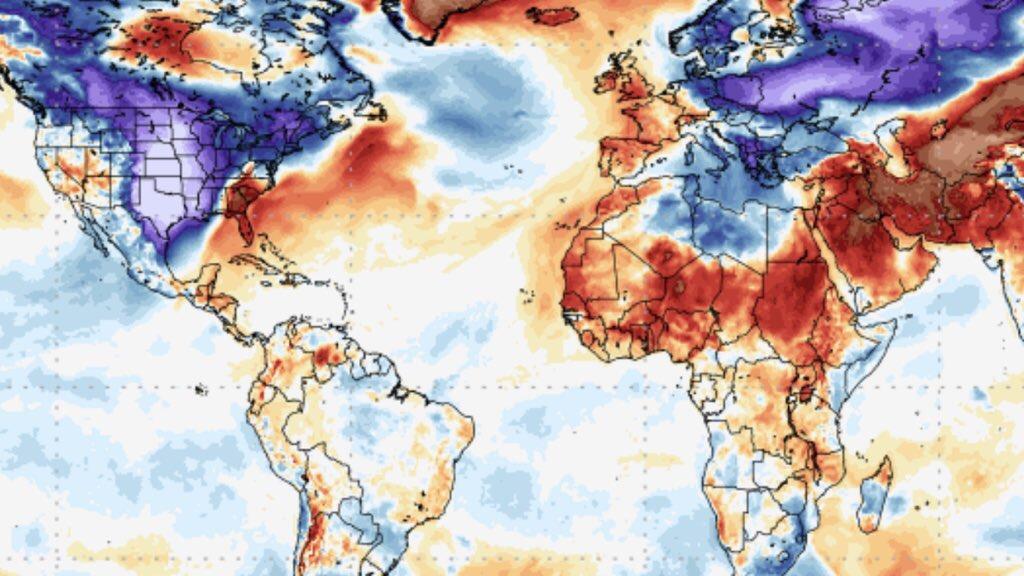 """<span class=""""entry-title-primary"""">Frio brutal nos EUA e Europa é sinal pro nosso inverno?</span> <span class=""""entry-subtitle"""">América do Norte e Europa Ocidental experimentam frio histórico em fevereiro congelante </span>"""